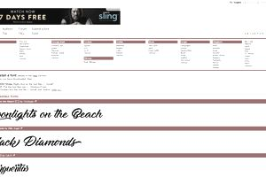 Besplatne web stranice s datumom pretraživanja